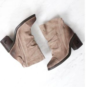 """Sbicca """"Millie"""" Suede Leather Booties"""